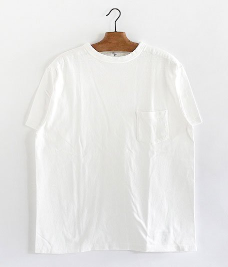 KAPTAIN SUNSHINE Basic Pocket Tee [WHITE]