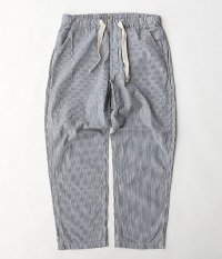 ANACHRONORM Chambray Easy Pants [HICKORY STRIPE]