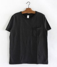 JIGSAW SUVIN COTTON S/S CREW NECK POCKET T-SHIRT [CHARCOAL]