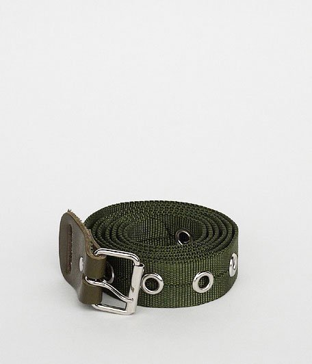 NECESSARY or UNNECESSARY BELT NYLON [OLIVE]