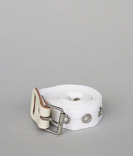 NECESSARY or UNNECESSARY BELT NYLON [WHITE]