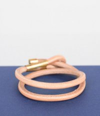 THE SUPERIOR LABOR Leather Rope Bangle Double