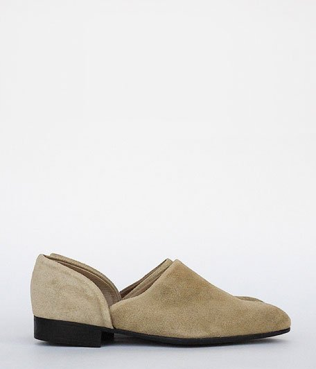 ANACHRONORM × VOO SPOCK SHOES by HARUTA [SAND BEIGE]