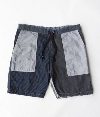 Remake Eazy Shorts [Overdyed Navy]