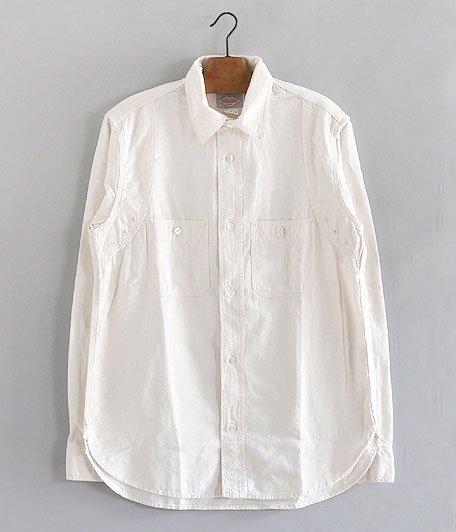WORKERS MFG Shirt [WHITE CHAMBRAY]