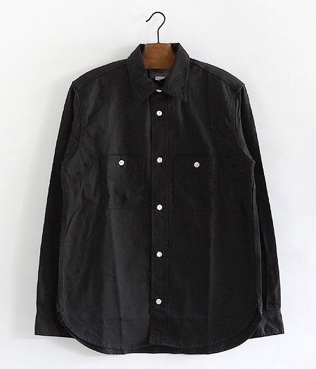 WORKERS MFG Shirt [BLACK TWILL]