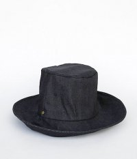 ANACHRONORM BIG WAX HAT by DECHO [INDIGO]