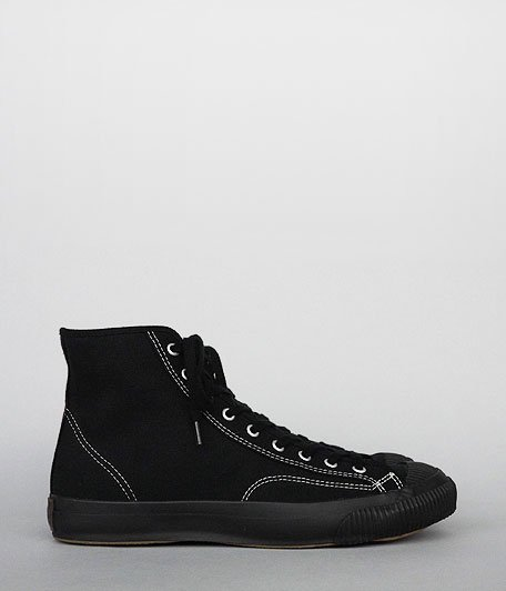 PRAS Shellcap High [KURO / BLACK SOLE]