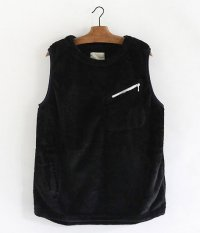 VOO MIRACLE FUR VEST [BLACK]