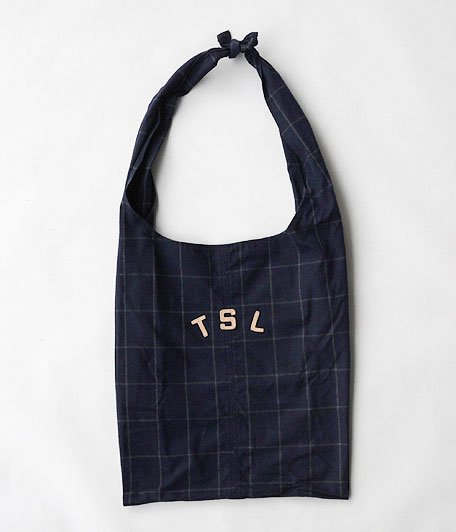THE SUPERIOR LABOR Tie Shoulder Bag [check]