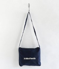NECESSARY or UNNECESSARY Velo Paris SACOCHE SHOULDER [NAVY]