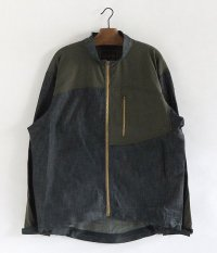ANACHRONORM Two Way Stretch Jacket [INDIGO��OLIVE]