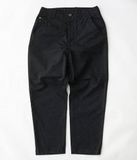 ANACHRONORM Chino Tapered Trousers [BLACK]