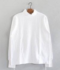 ANACHRONORM Waffle Face Mocneck Under-Shirt [WHITE]