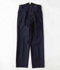 ANACHRONORM Denim Wide Trousers [INDIGO]