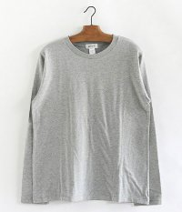 BETTER CREW NECK L/S T-SHIRT [TOP GRAY]