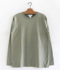 BETTER CREW NECK L/S T-SHIRT [SAGE GRAY]
