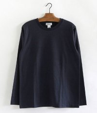 BETTER CREW NECK L/S T-SHIRT [NAVY]