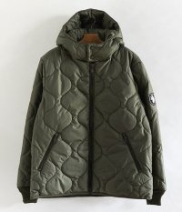 NECESSARY or UNNECESSARY DOUBLE HOODED [OLIVE]