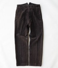 ANACHRONORM Wide Wale Corduroy Wide Trousers [GRAY]