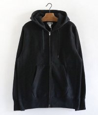 BETTER ZIP HOODY [BLACK]