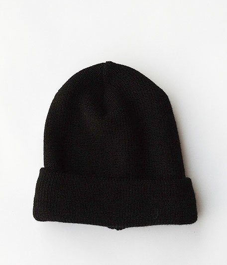 ANACHRONORM KNIT CAP by DECHO [BLACK]