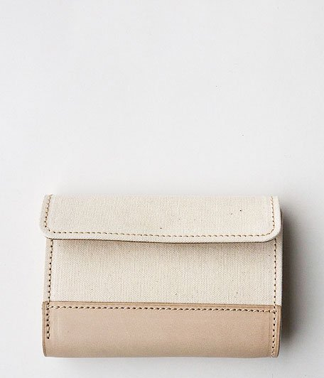 ANACHRONORM Middle Wallet by BRASSBOUND [IVORY]