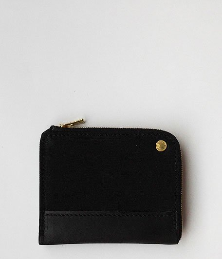 ANACHRONORM Small Wallet by BRASSBOUND [BLACK]