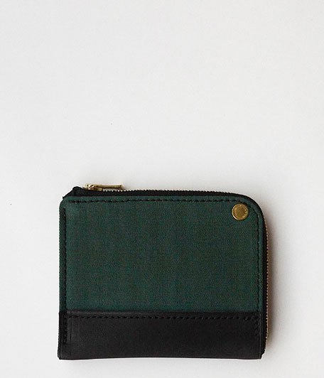 ANACHRONORM Small Wallet by BRASSBOUND [GREEN]