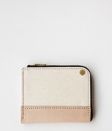 ANACHRONORM Small Wallet by BRASSBOUND [IVORY]