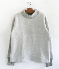 ANACHRONORM Double Face Mocneck Under-Shirt [GRAY TOP]