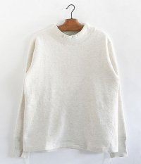 ANACHRONORM Double Face Mocneck Under-Shirt [OATMEAL TOP]