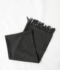HIGHTLAND TWEED STOLE PLAINE [GRAY]