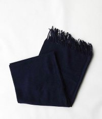 HIGHTLAND TWEED STOLE PLAINE [NAVY]