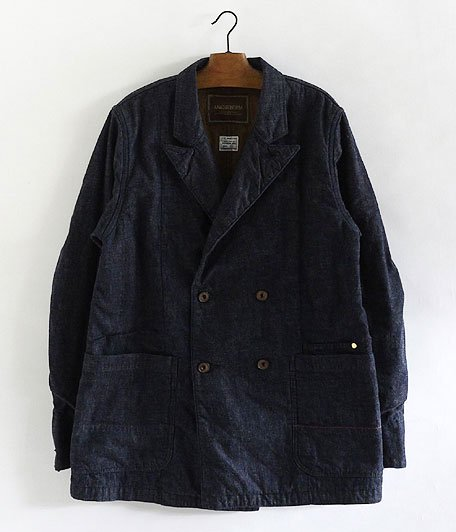 ANACHRONORM RADICAL 別注 Denim Lapel Jacket One Wash [INDIGO]