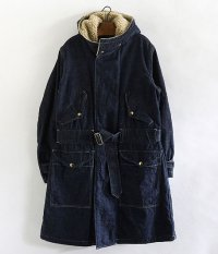 ANACHRONORM Denim Hooded Coat [INDIGO]