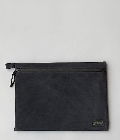 VOO × BLUE LUG LEATHER NOTE [BLACK]