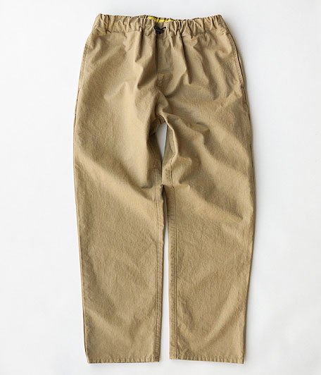 NECESSARY or UNNECESSARY SPINDLE PANTS RIP [BEIGE]