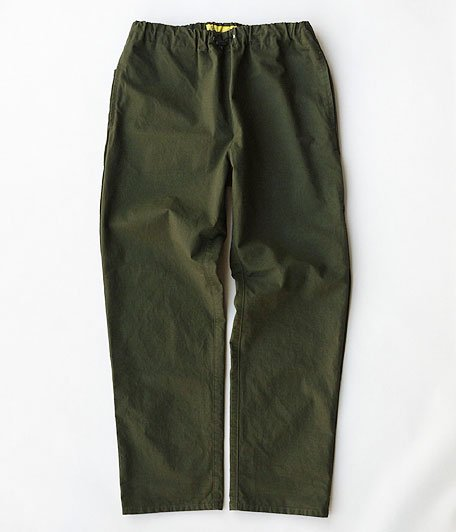 NECESSARY or UNNECESSARY SPINDLE PANTS RIP [OLIVE]