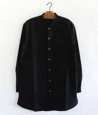 CURLY CLOUDY LONG SHIRTS [BLACK]