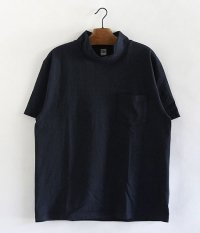 KAPTAIN SUNSHINE 17SS Navy Yard Neck Tee [NAVY]