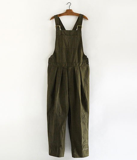 NEAT 1955 Tent Cloth OVERALL [OLIVE]