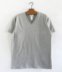 BETTER V  NECK S/S T-SHIRT [TOP GRAY]