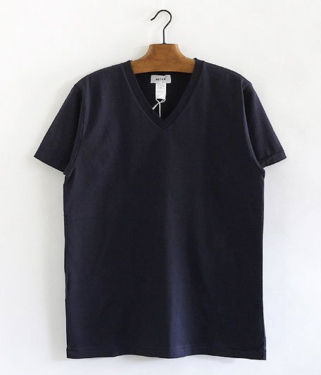 BETTER V  NECK S/S T-SHIRT [NAVY]