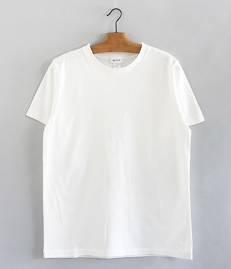BETTER CREW NECK S/S T-SHIRT [OFF WHITE]