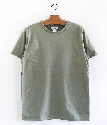 BETTER CREW NECK S/S T-SHIRT [SAGE GRAY]