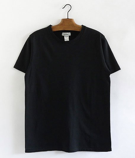 BETTER CREW NECK S/S T-SHIRT [BLACK]