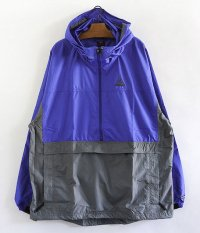 90's NIKE ACG  Anorak Jacket Dead Stock [BLUE/GRAY]