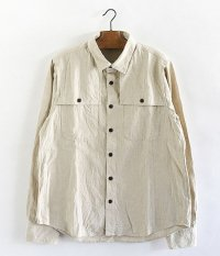 H.UNIT STORE LABEL Ventilation Long Sleeve Shirt [KINARI]
