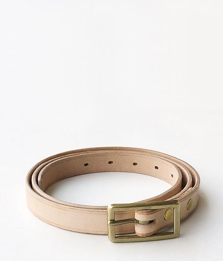ANACHRONORM 20mm LONG BELT by BRASSBOUND [NATURAL]
